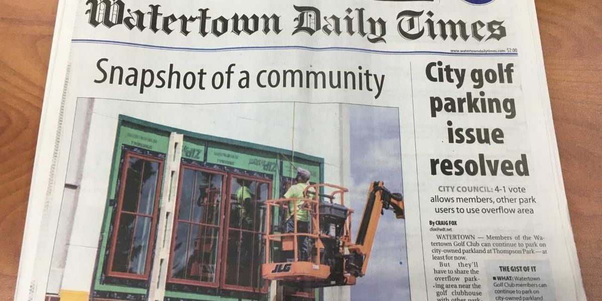 Watertown Daily Times announces newspaper changes, closures, job cuts