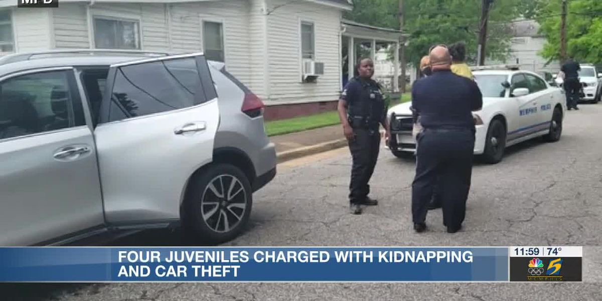 4 teens charged with kidnapping after SUV stolen with 4-year-old St. Jude patient inside