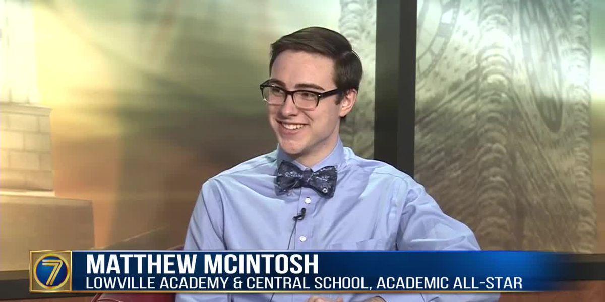 Academic All-Star: Matthew McIntosh