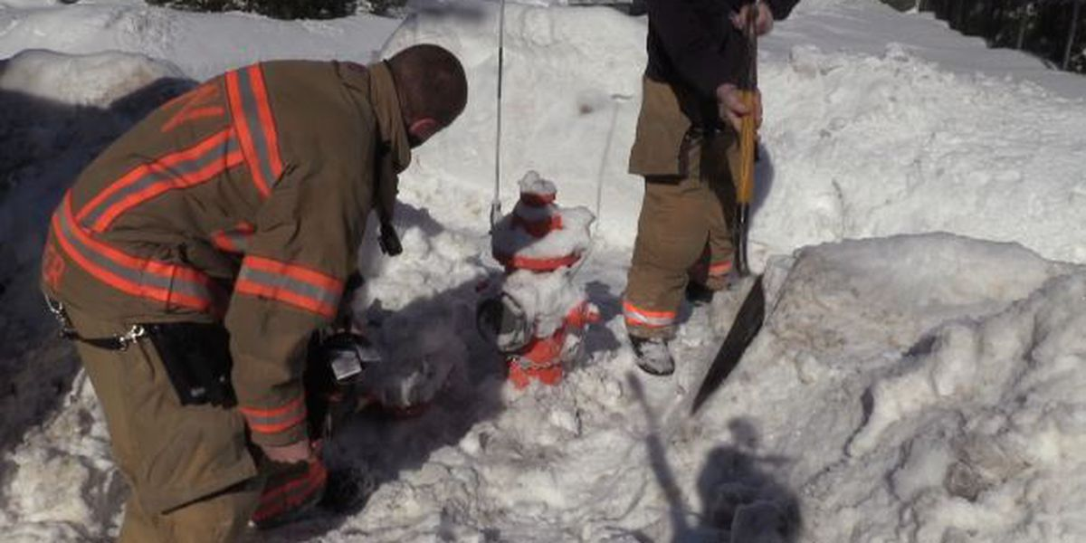 The importance of uncovering fire hydrants hidden in snowbanks