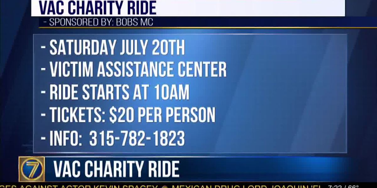 Victims Assistance Center charity ride