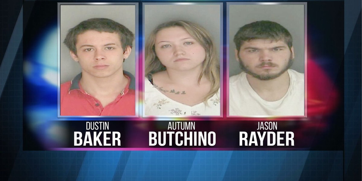 Three people arrested in connection with Ogdensburg break in