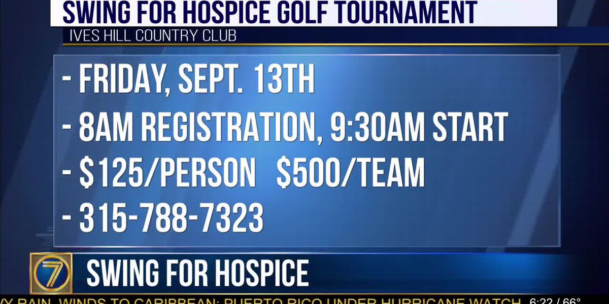 Swing for Hospice golf tournament coming soon