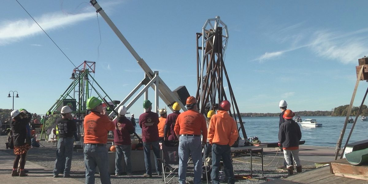 Pumpkins fly at 8th annual Punkin' Chunkin'