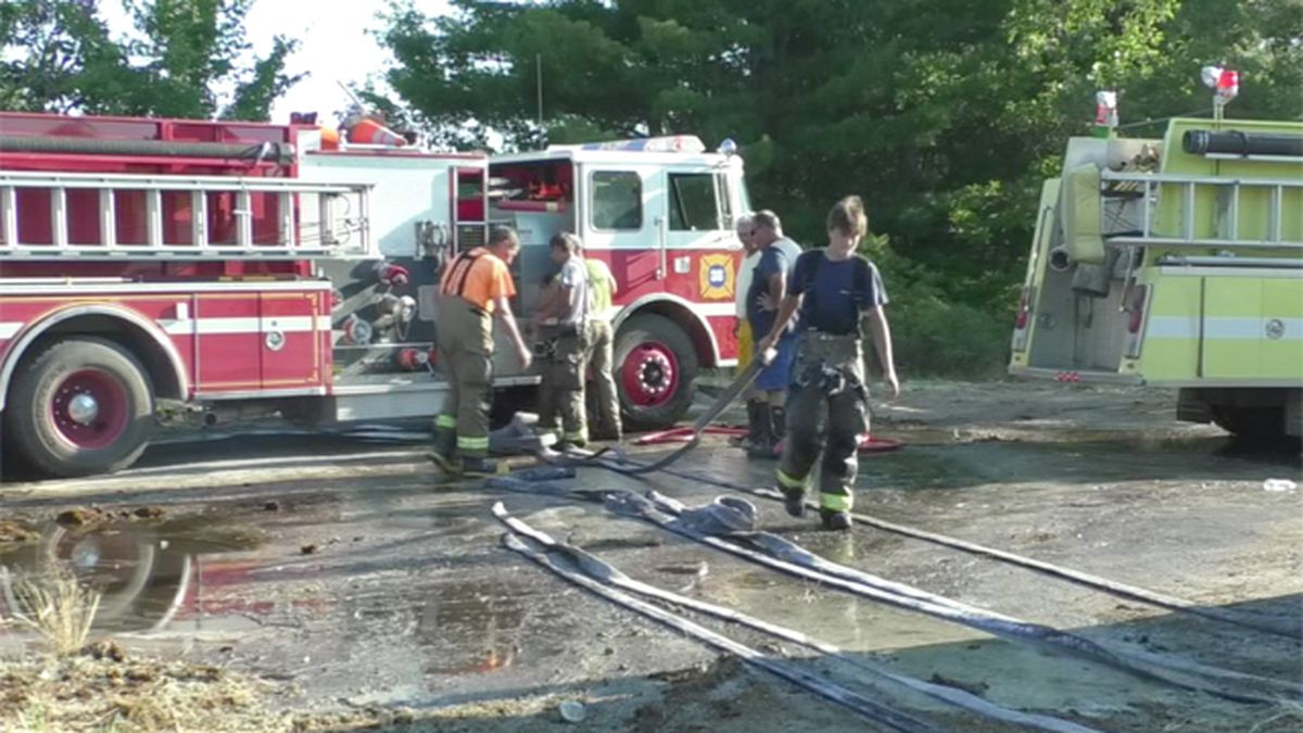 Firefighters battle flare-ups at persistent Plessis fire
