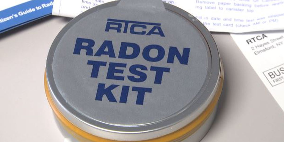 Free radon test kits available