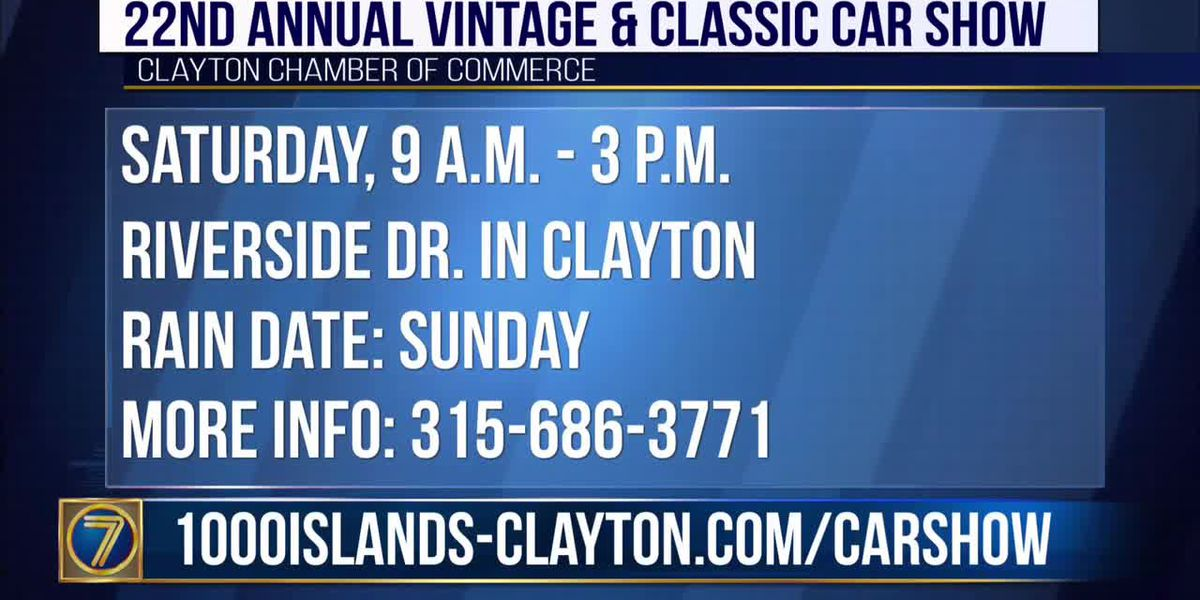 Clayton to host 22nd Annual Vintage & Classic Car Show