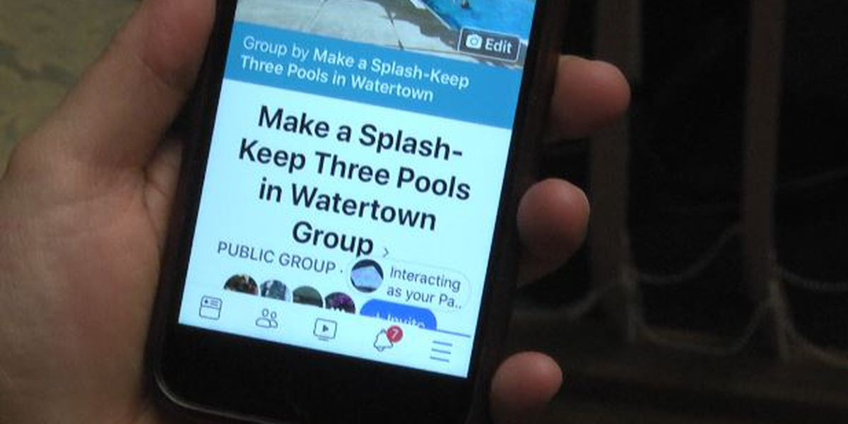 Group forms to keep Watertown's pools