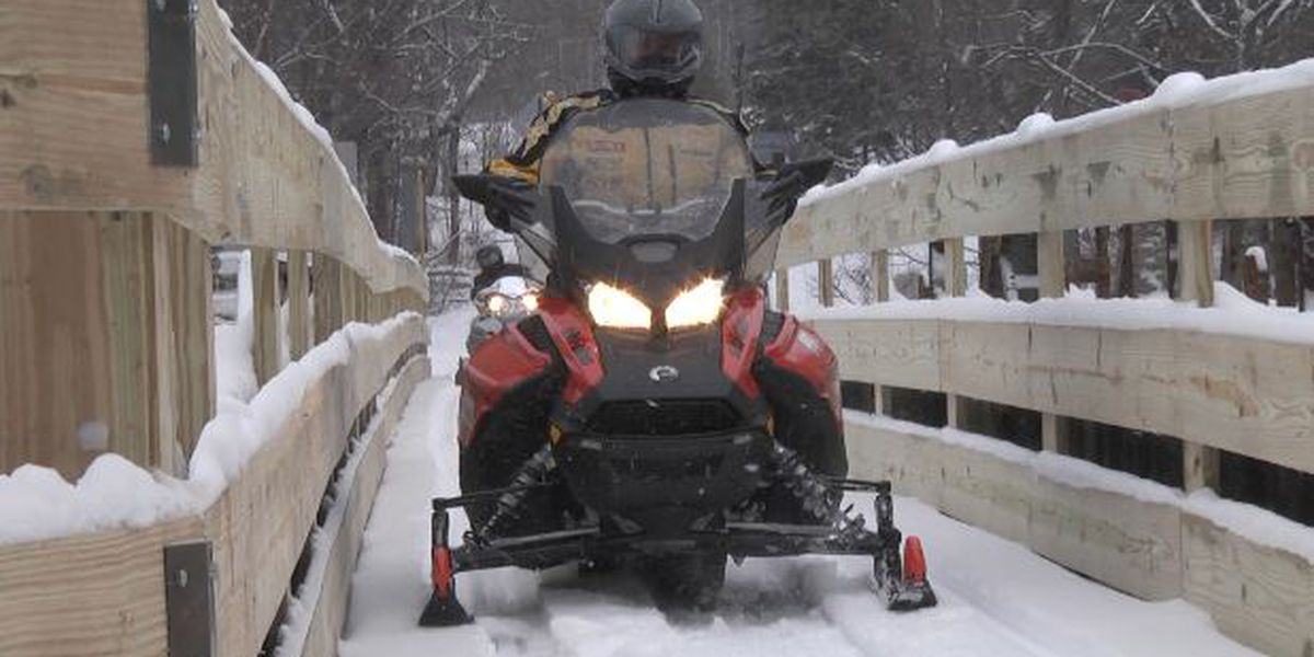 'Miracle bridge' now open to snowmobilers