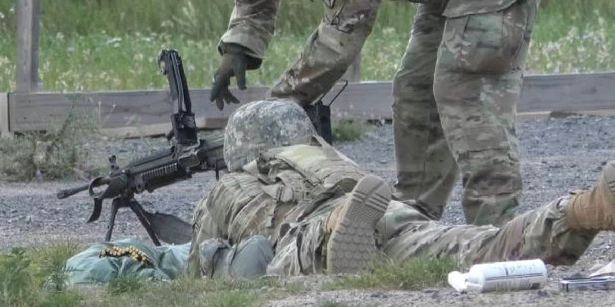 Fort Drum soldiers sharpen skills at shooting range