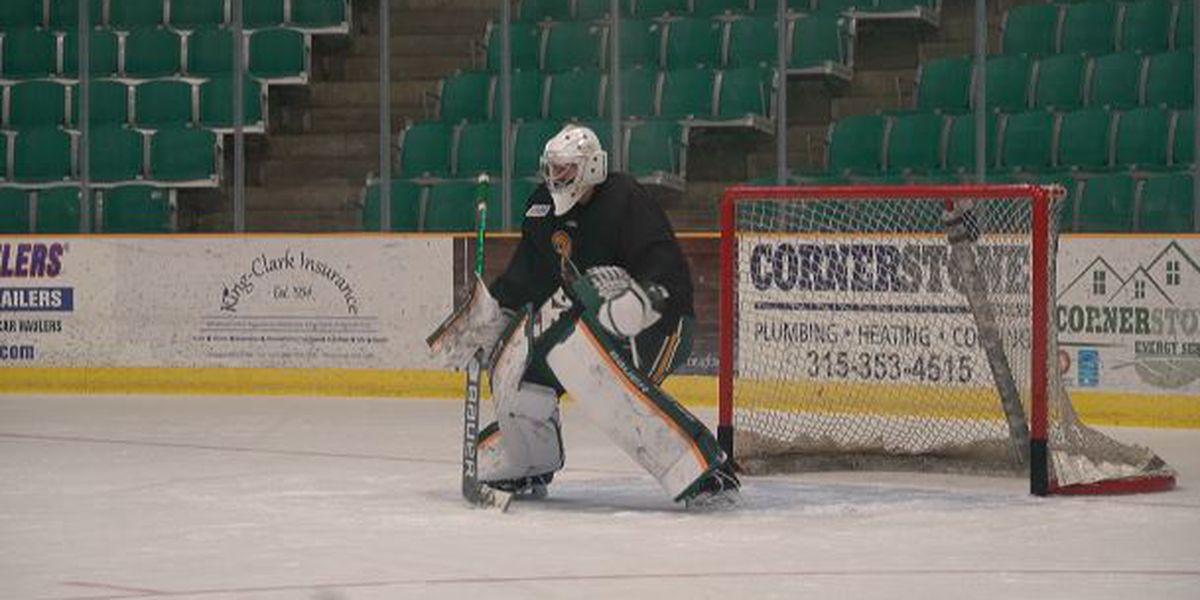 Clarkson University cuts men's hockey season short