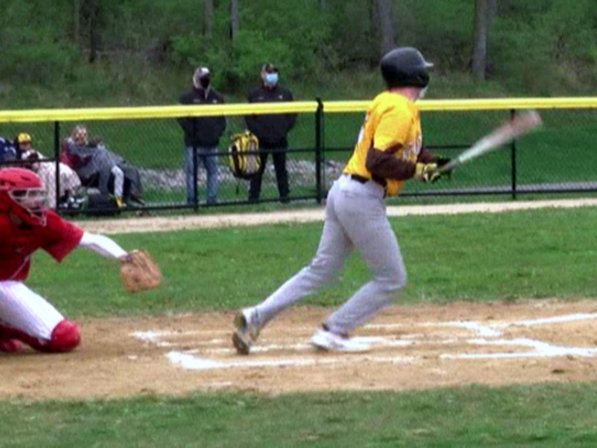 Highlights & scores: college & high school baseball, high school lacrosse