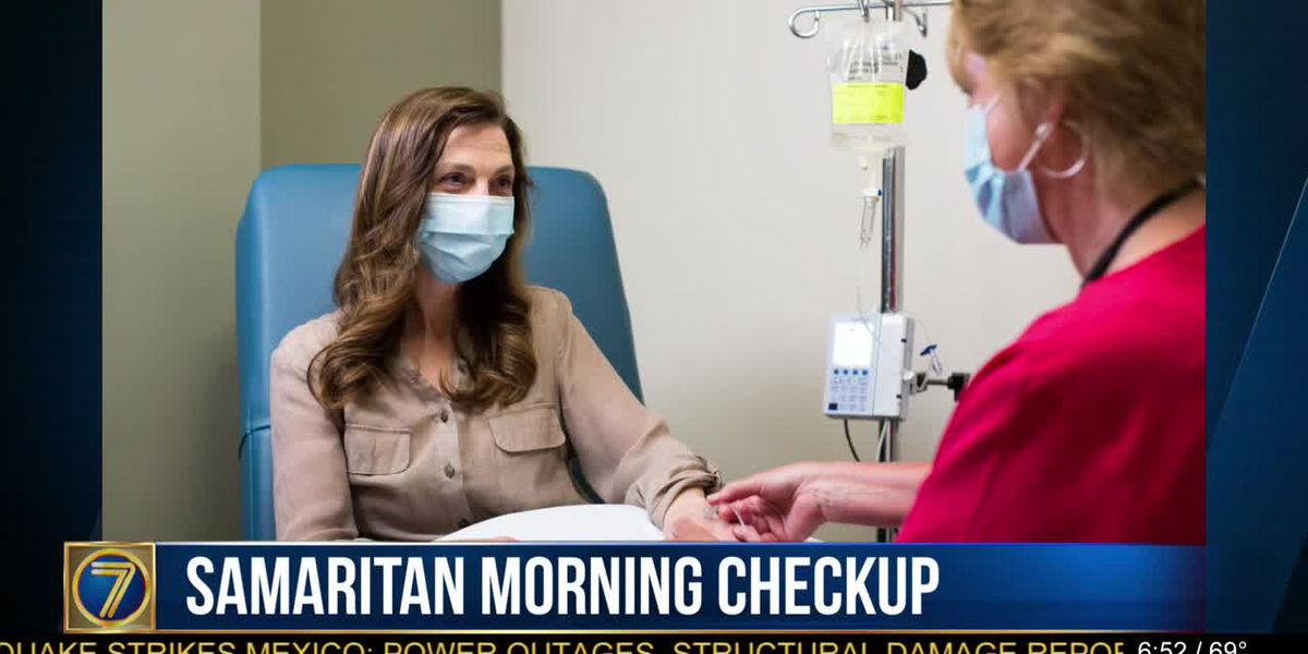 Morning Checkup: infusions at Samaritan
