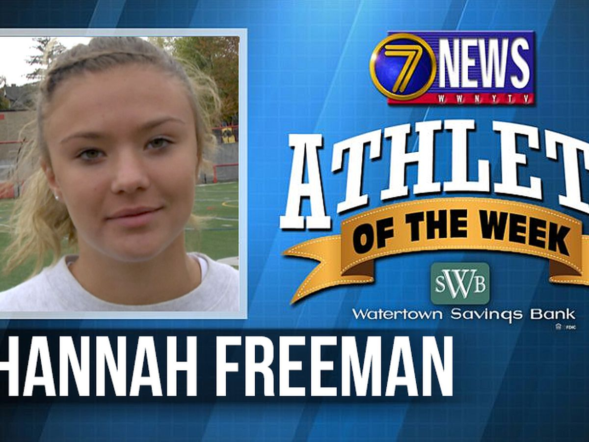 Athlete of the Week: Hannah Freeman