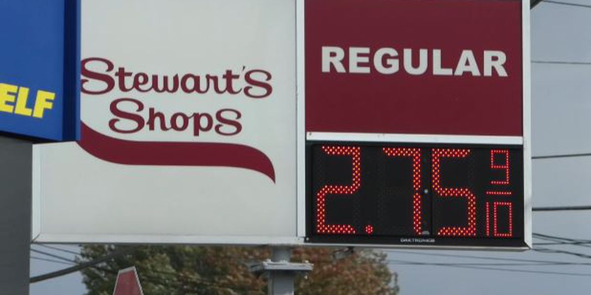 Gas prices up 11 cents in a week