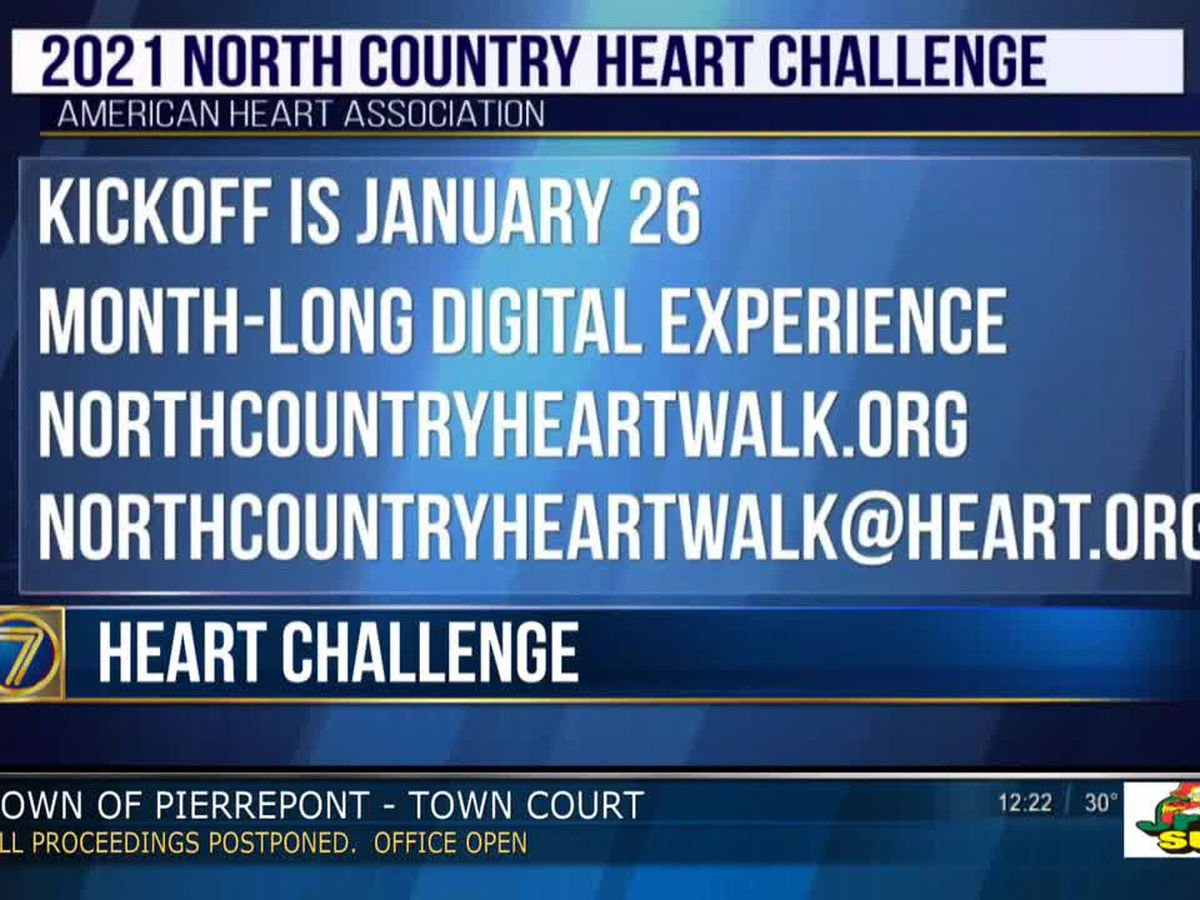 Heart Challenge fundraiser kicks off January 26
