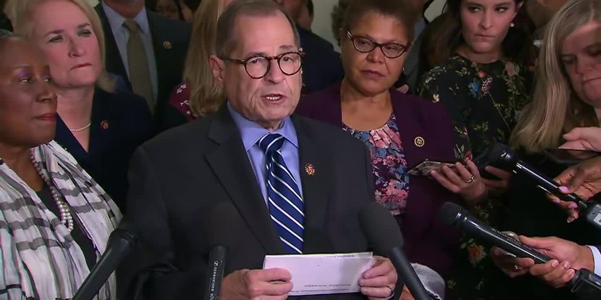 Nadler: Trump impeachment hearings to begin next week