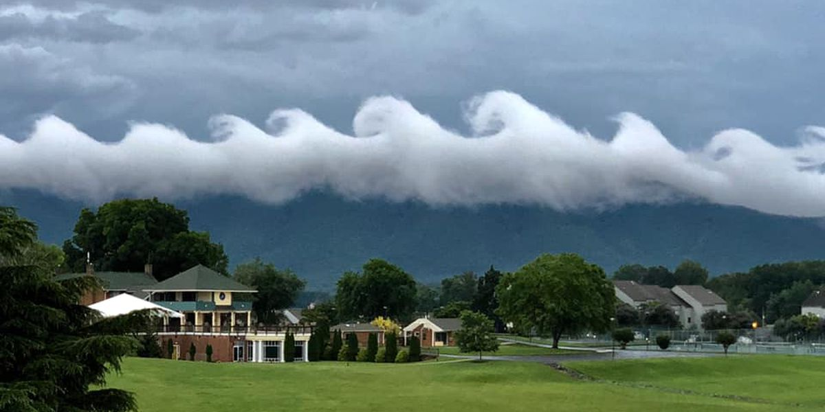 LOOK: Spectacular wave-like clouds form in Virginia