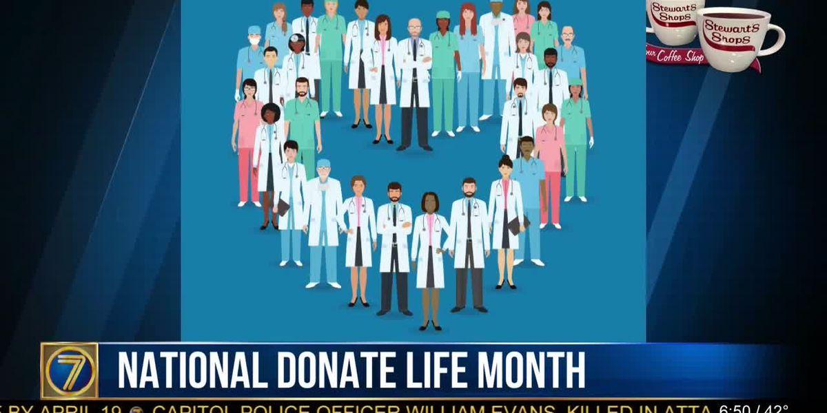 Morning Checkup: National Donate Life Month