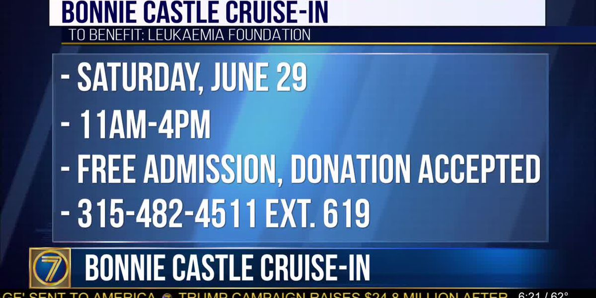 Plenty to see & do at Bonnie Castle Cruise-In