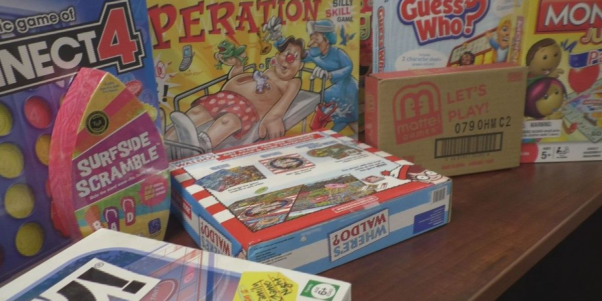 Victims Assistance Center seeks donations of board games
