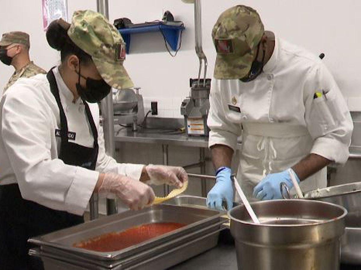 Fort Drum cooks make healthy food options for soldiers