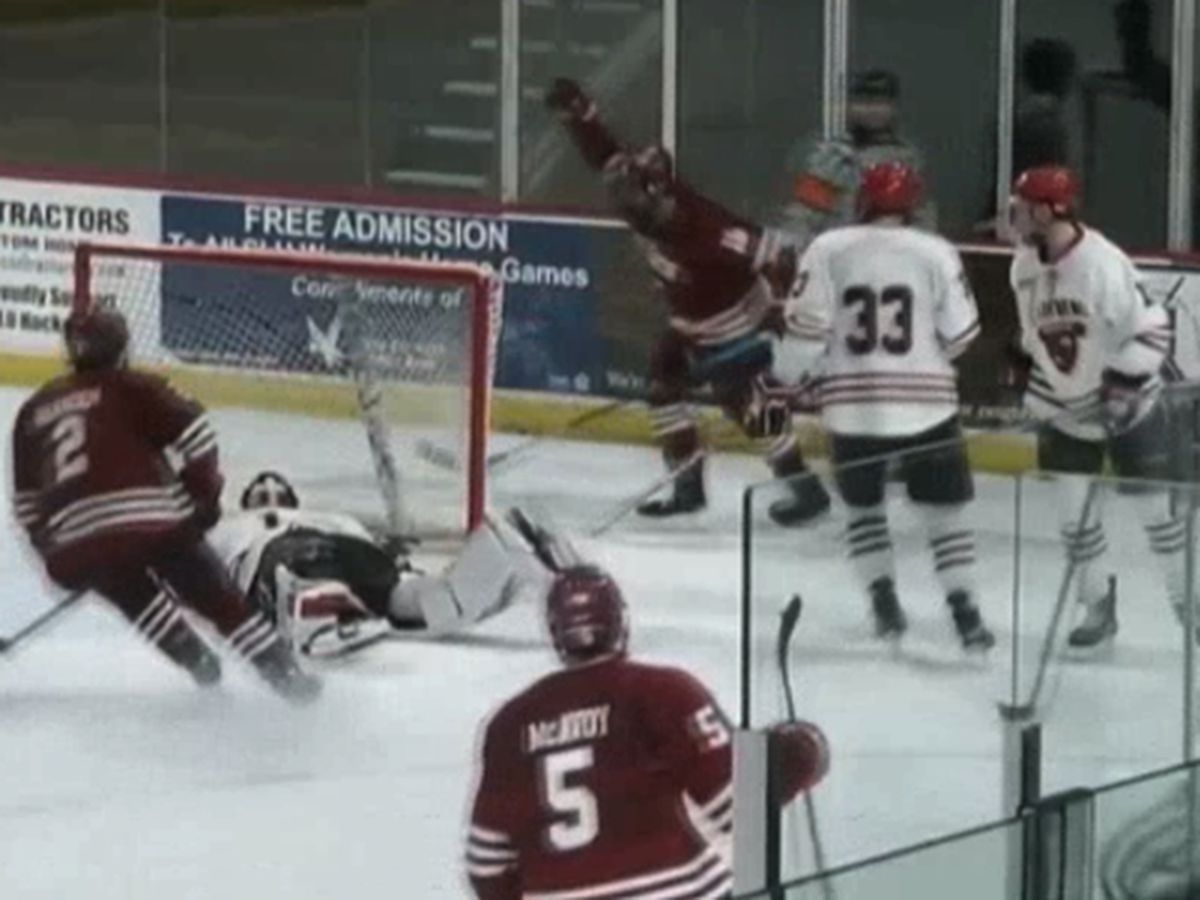 St. Lawrence suffers OT loss to Colgate on the ice