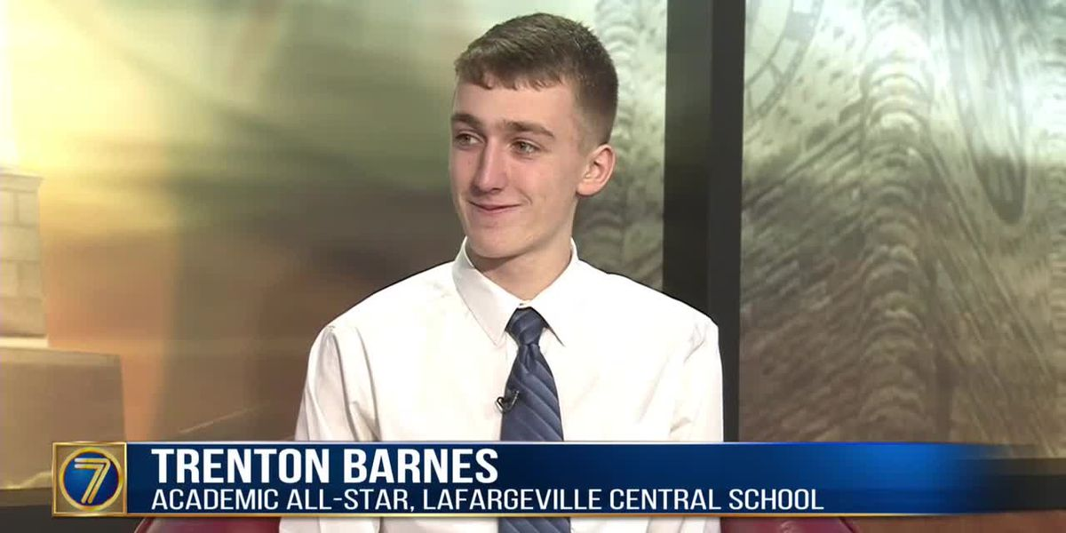 Academic All-Star: Trenton Barnes
