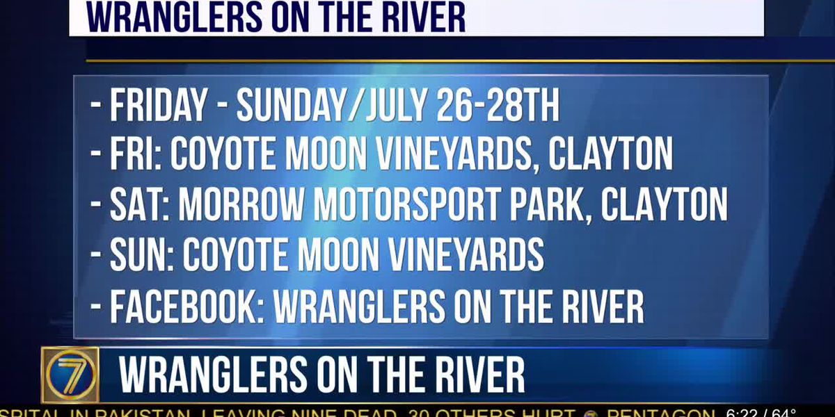 3rd annual Wranglers on the River this weekend