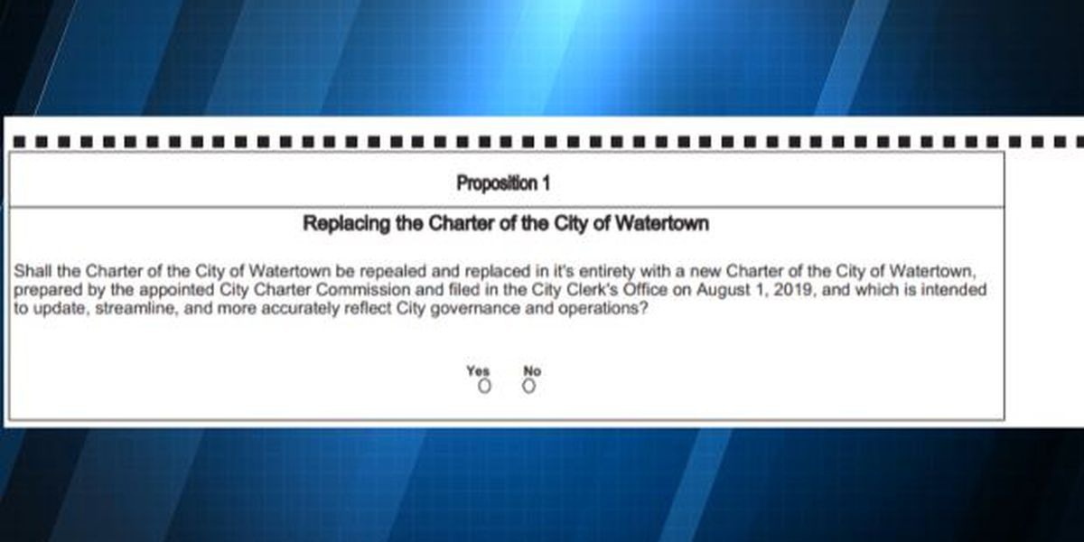 Voters shoot down new Watertown charter