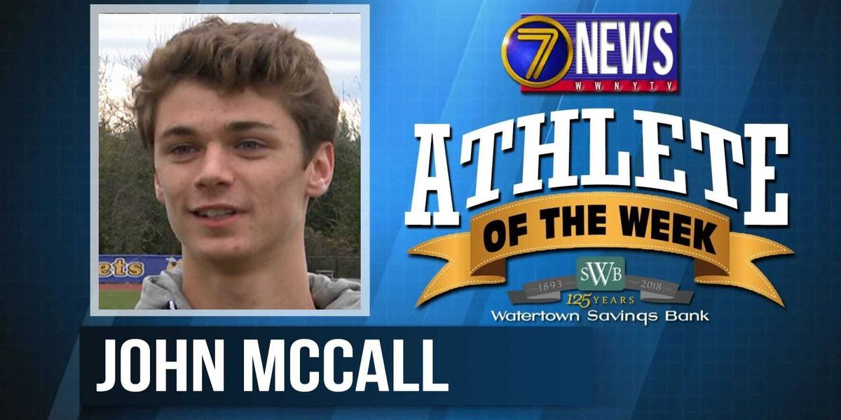 Athlete of the Week: John McCall