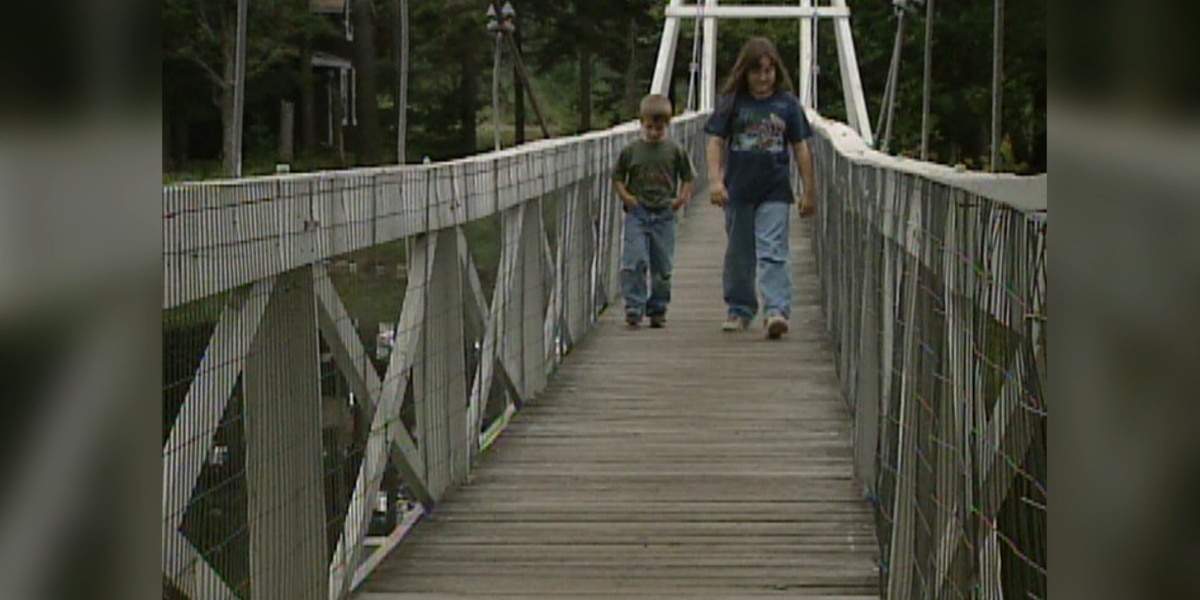 Blast from the Past: Wanakena's footbridge in 1999