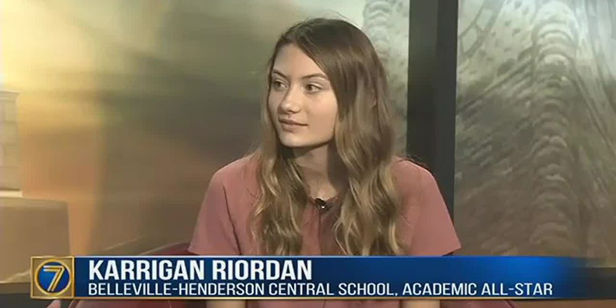 Academic All-Star: Karrigan Riordan