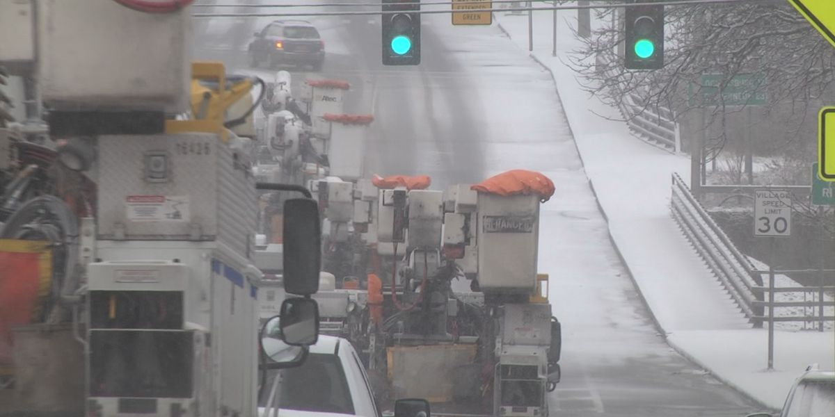 Sunday's wintry mix a relief for St. Lawrence County