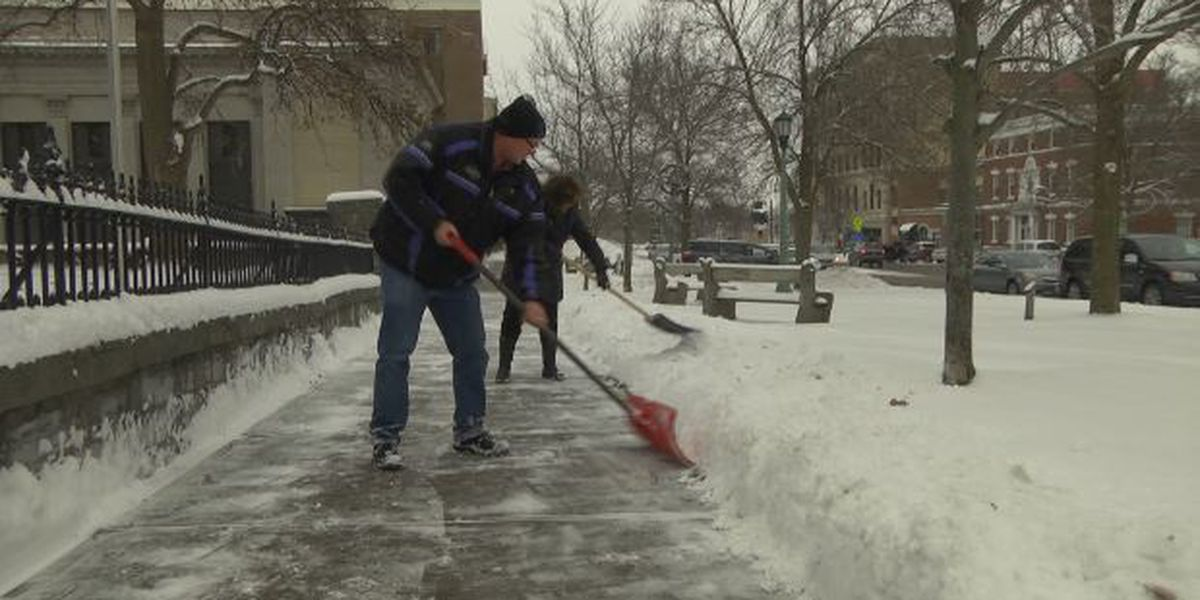North country avoids worst of winter storm