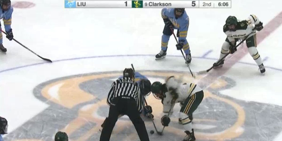 Clarkson sweeps Long Island in two-game series