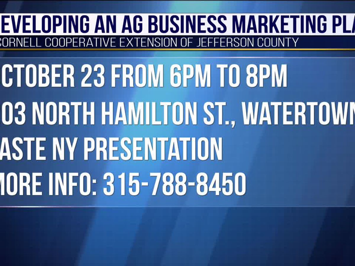 Free workshop offered for ag business marketing