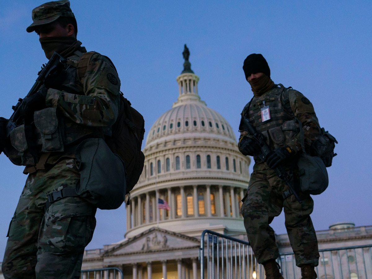 Stefanik: why are troops staying at Capitol?