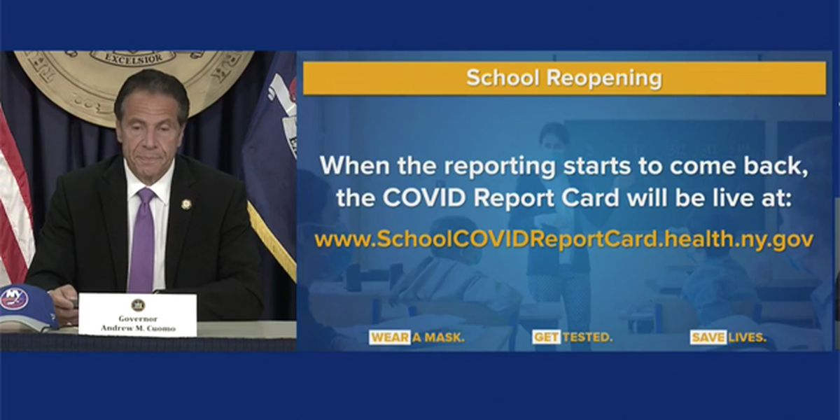 School districts to get 'report card' on COVID-19 cases
