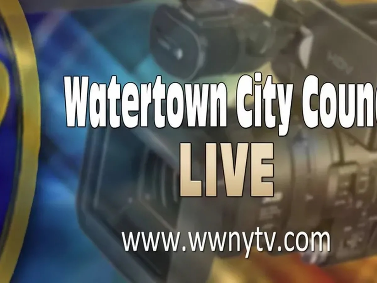 Watch Watertown city council live