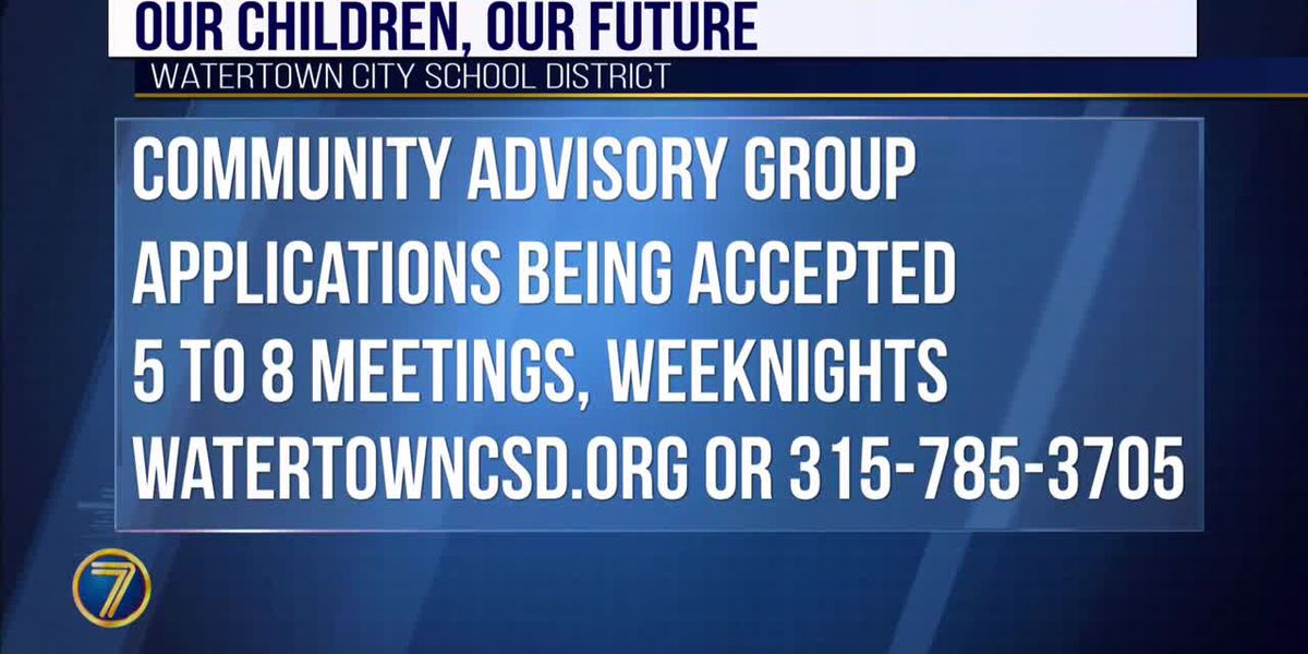 Watertown School District seeks volunteers for 'Our Children, Our Future'