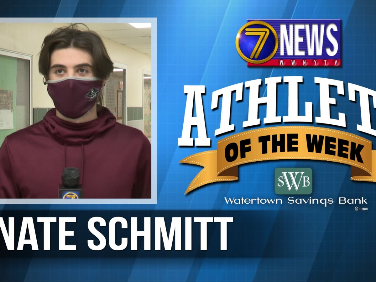 Athlete of the Week: Nate Schmitt