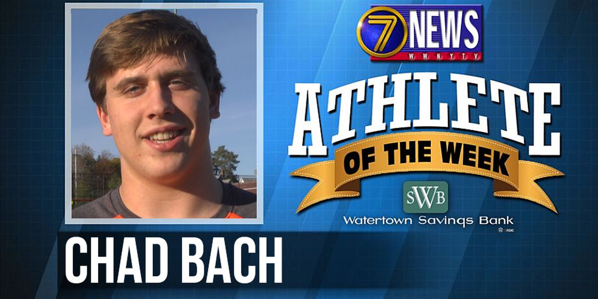 Athlete of the Week: Chad Bach