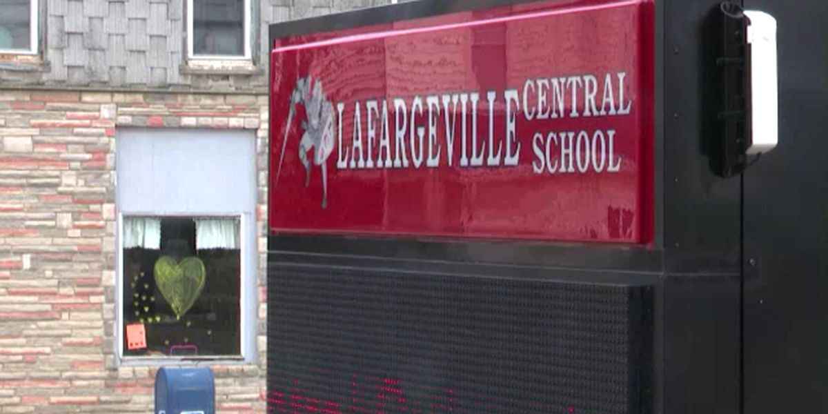 LaFargeville school offers auditorium for people to watch Peyton Morse funeral