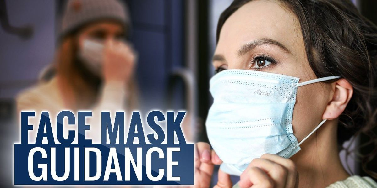 How to properly wear a face mask