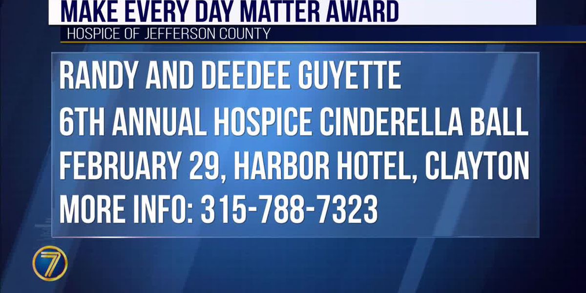 Hospice to present first-ever Make Every Day Matter Award
