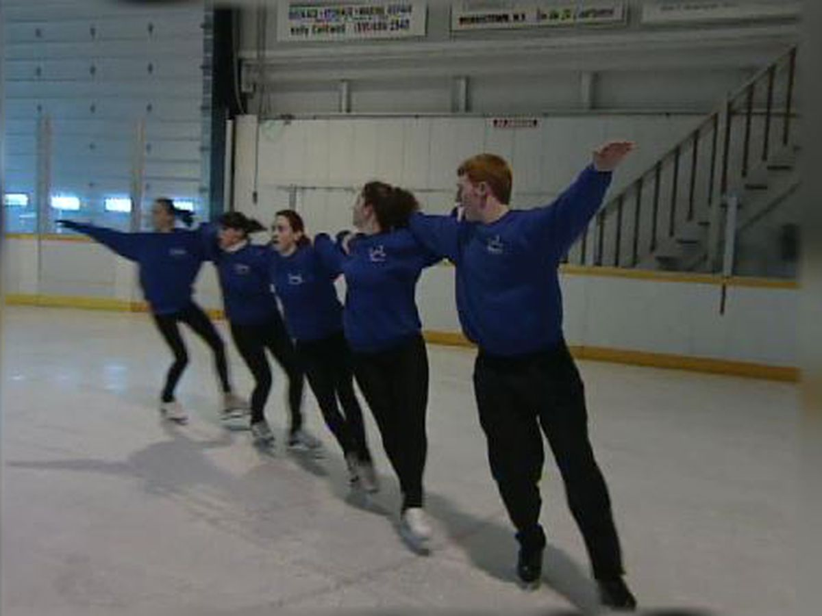 Blast from the Past: 1999 skating team
