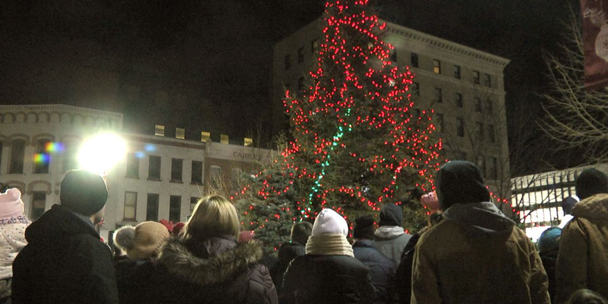 Parade, tree & Christmas spirit light up downtown Watertown