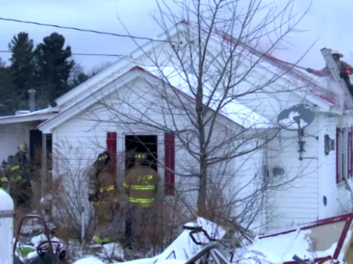 Clayton man escapes burning home