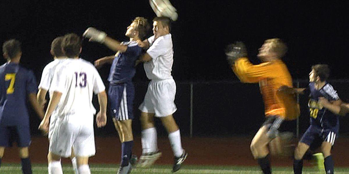 Highlights & scores: boys' high school soccer action